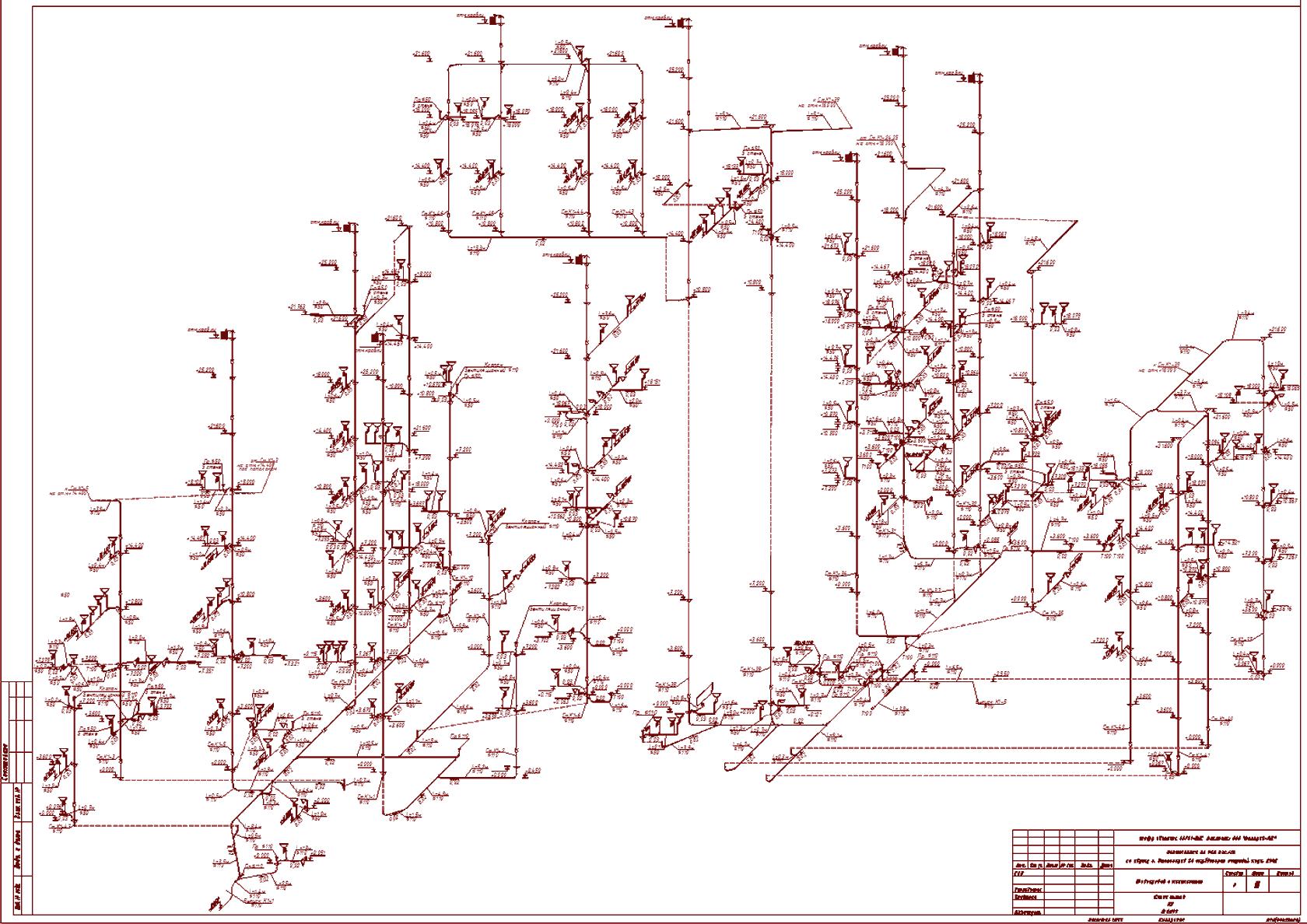 Принципиальные схемы систем водоснабжения объекта капитального строительства